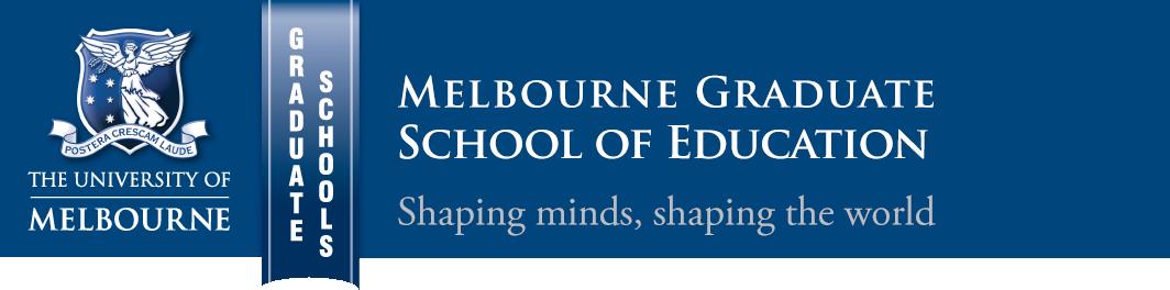 Graduate School of Education, University of Melbourne
